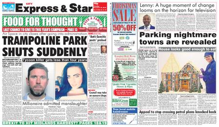 Express and Star City Edition – December 18, 2018