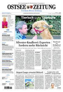 Ostsee Zeitung Wolgast - 27. Dezember 2017
