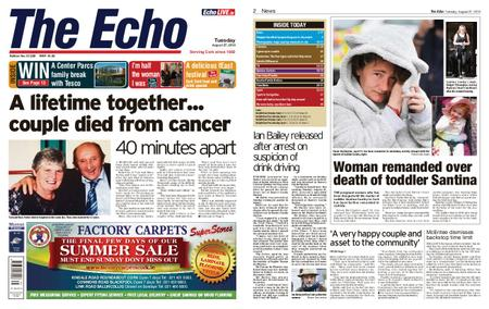 Evening Echo – August 27, 2019