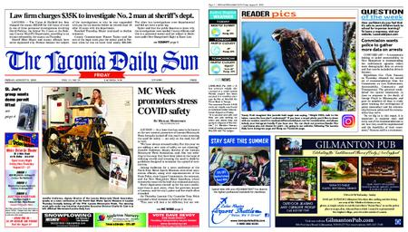The Laconia Daily Sun – August 21, 2020