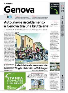 la Repubblica Genova - 17 Marzo 2019
