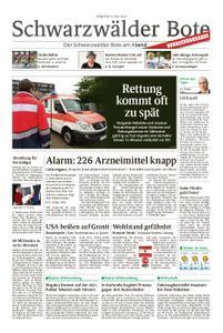 Schwarzwälder Bote Blumberg - 09. Juli 2019