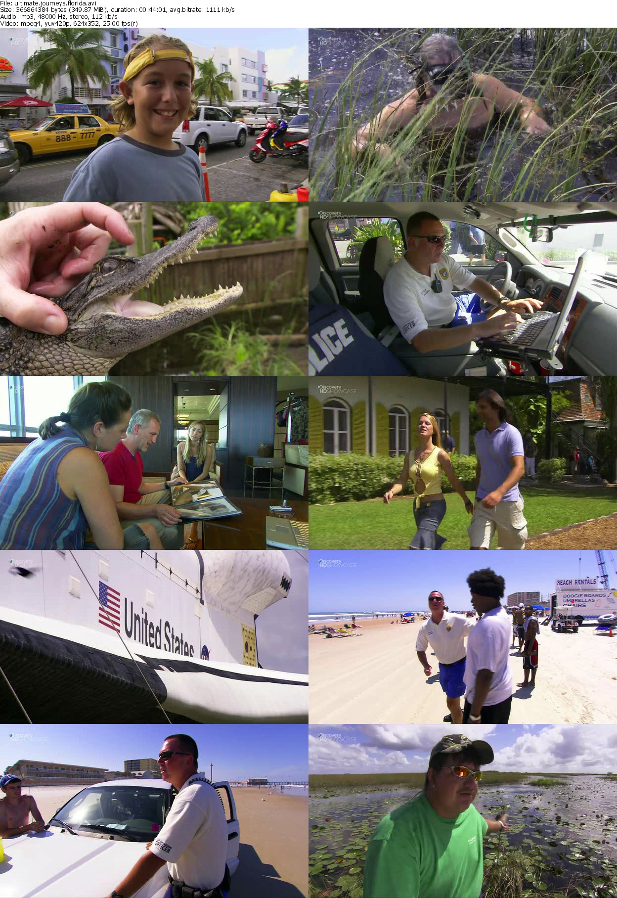 Discovery Channel - Ultimate Journeys: Florida (2010)