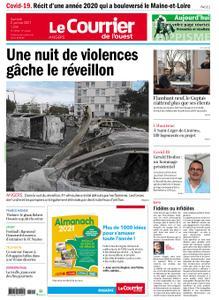 Le Courrier de l'Ouest Angers – 02 janvier 2021
