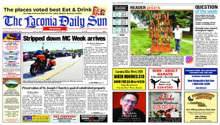 The Laconia Daily Sun – August 22, 2020