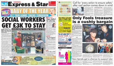 Express and Star Sandwell Edition – September 21, 2018