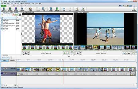 NCH VideoPad Video Editor Professional 7.23 Beta