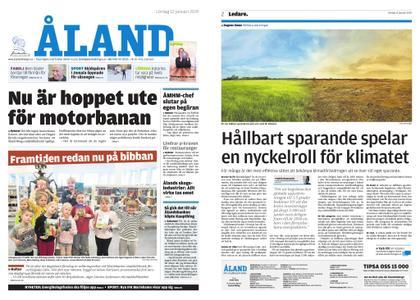 Ålandstidningen – 12 januari 2019