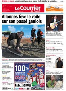 Le Courrier de l'Ouest Nord Anjou – 15 novembre 2019