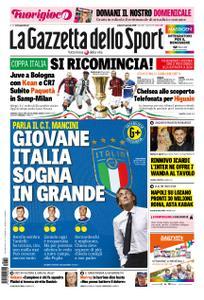 La Gazzetta dello Sport – 12 gennaio 2019
