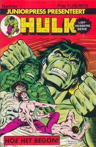 Hulk Liefhebbers Serie 01-11 c