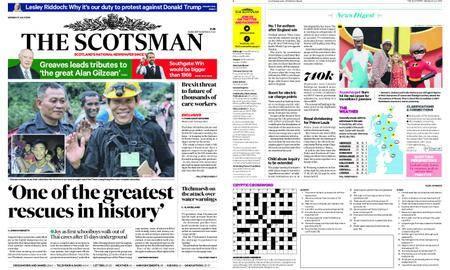 The Scotsman – July 09, 2018