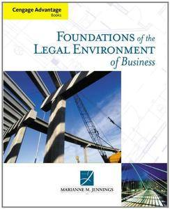 Foundations of the Legal Environment of Business(Repost)