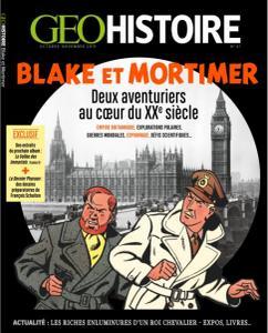 Geo Histoire - Octobre-Novembre 2019