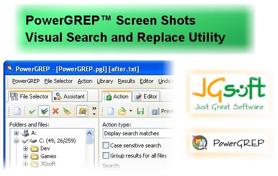 JGsoft PowerGREP v3.5.5 Retail