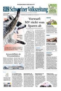 Schweriner Volkszeitung Hagenower Kreisblatt - 29. Oktober 2019