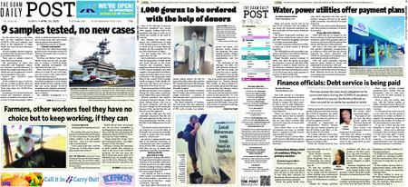 The Guam Daily Post – April 20, 2020