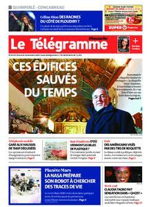 Le Télégramme Concarneau – 29 décembre 2019