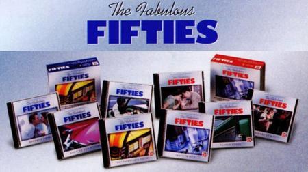 V.A. - Time Life Music: The Fabulous Fifties Collection (8CD Box Set, 2000)