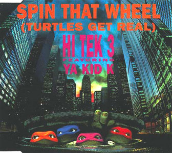 Technotronic - Spin That Wheel (Maxi CD)