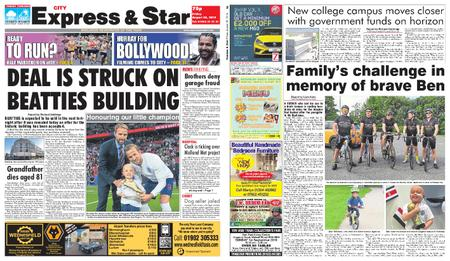 Express and Star City Edition – August 30, 2019