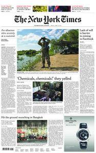 International New York Times - 13 April 2018