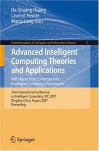 Advanced Intelligent Computing Theories and Application