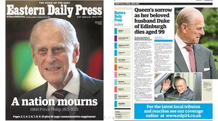 Eastern Daily Press – April 10, 2021