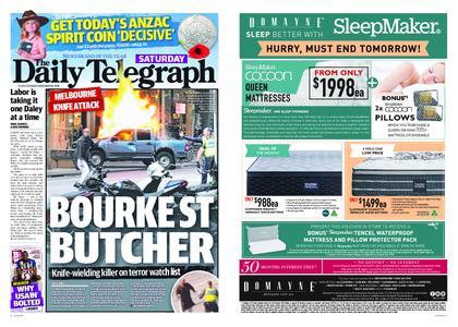 The Daily Telegraph (Sydney) – November 10, 2018