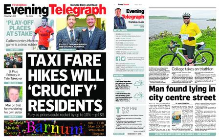 Evening Telegraph First Edition – May 03, 2019