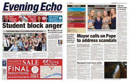 Evening Echo – August 23, 2018