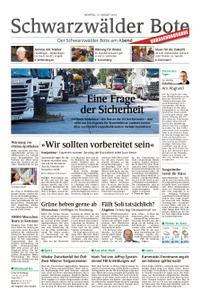 Schwarzwälder Bote Sulz - 12. August 2019
