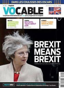 Vocable Anglais - 14 février 2017