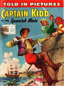 Thriller Picture Library 105-Captain Kidd of the