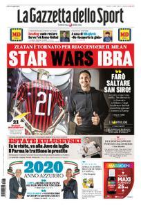 La Gazzetta dello Sport Roma – 03 gennaio 2020