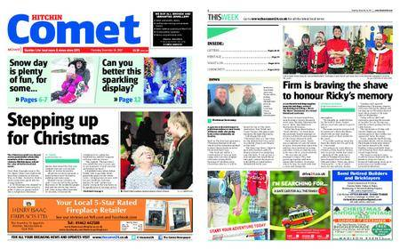 The Comet Hitchin – December 14, 2017