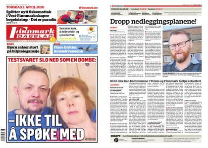 Finnmark Dagblad – 02. april 2020