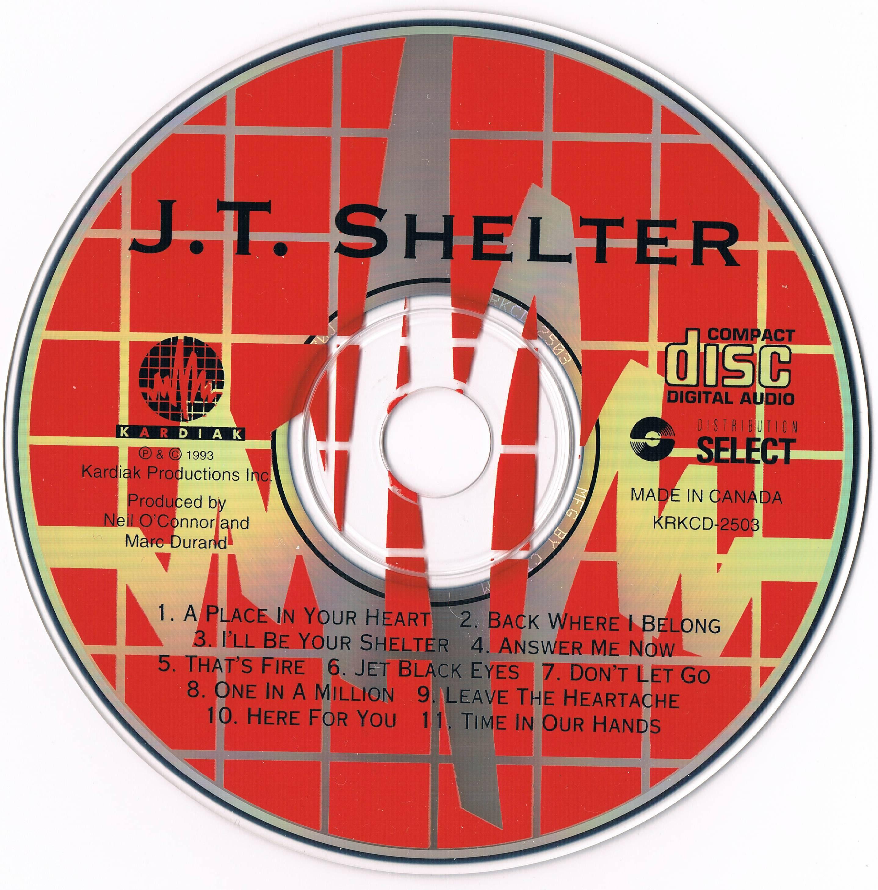 J.T. Shelter - J.T. Shelter (1993)