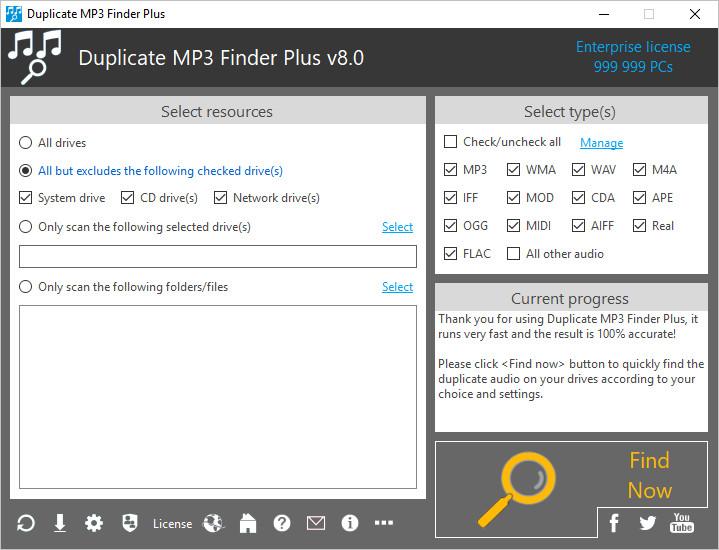 TriSun Duplicate MP3 Finder Plus 8.0 Build 017 Multilingual