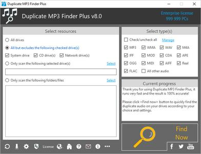 TriSun Duplicate MP3 Finder Plus 8.0 Build 016 Multilingual