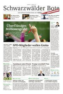 Schwarzwälder Bote Hechingen - 05. März 2018