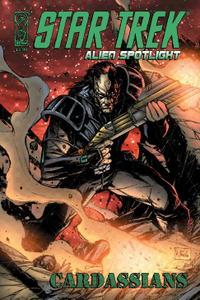 IDW-Star Trek Alien Spotlight Cardassian 2010 Hybrid Comic eBook