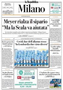 la Repubblica Milano - 5 Luglio 2020