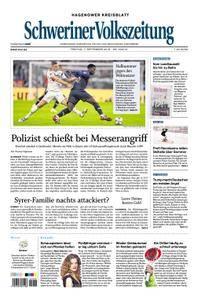 Schweriner Volkszeitung Hagenower Kreisblatt - 07. September 2018