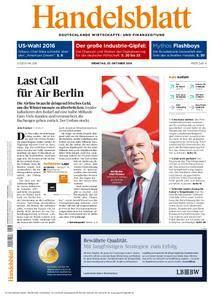 Handelsblatt - 25. Oktober 2016