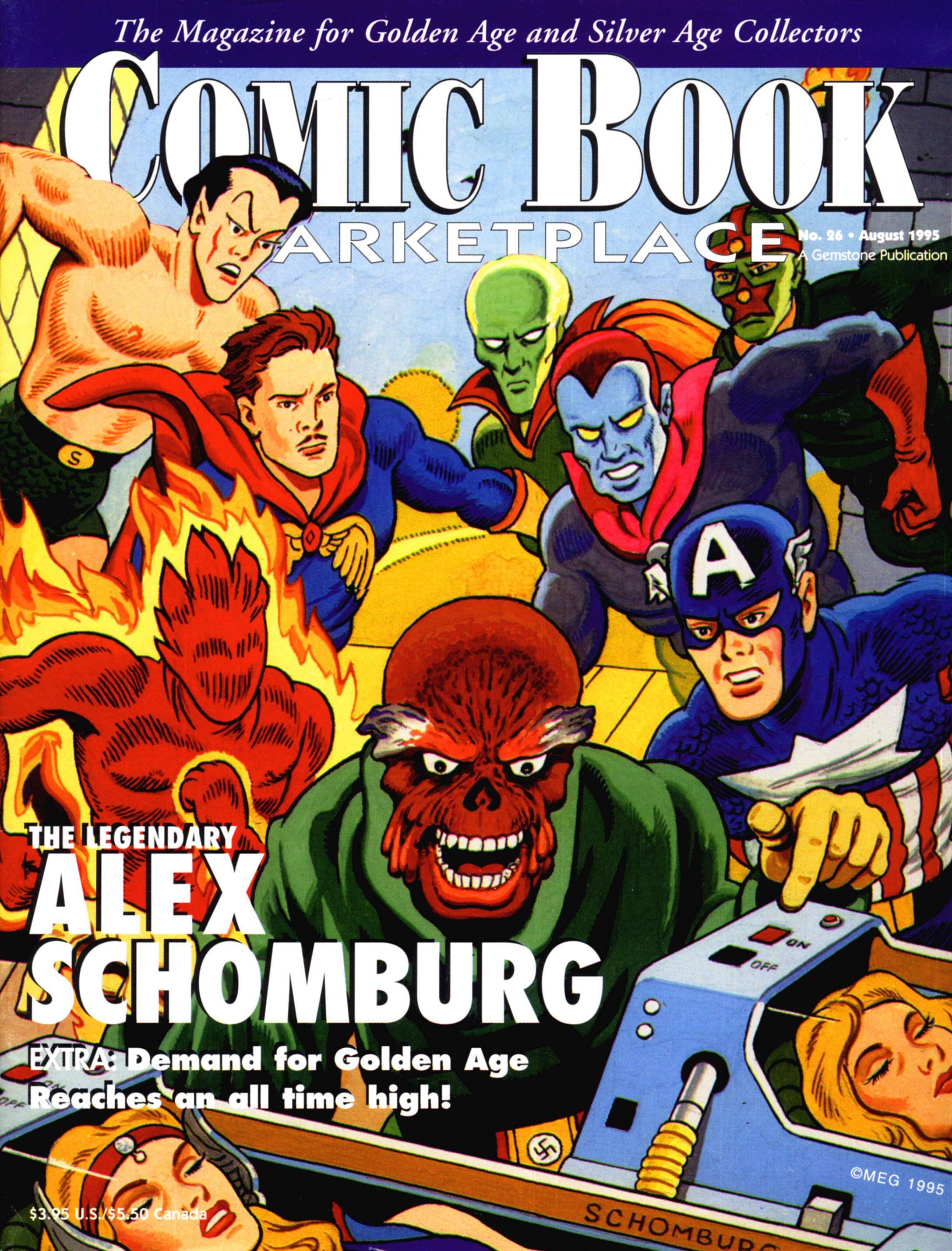 Comic Book Marketplace 026 1995