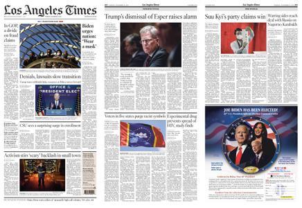 Los Angeles Times – November 10, 2020