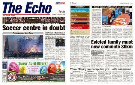 Evening Echo – April 16, 2019