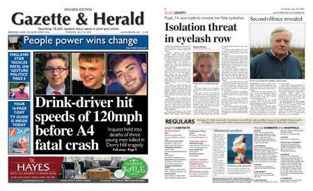 Gazette & Herald – July 15, 2021