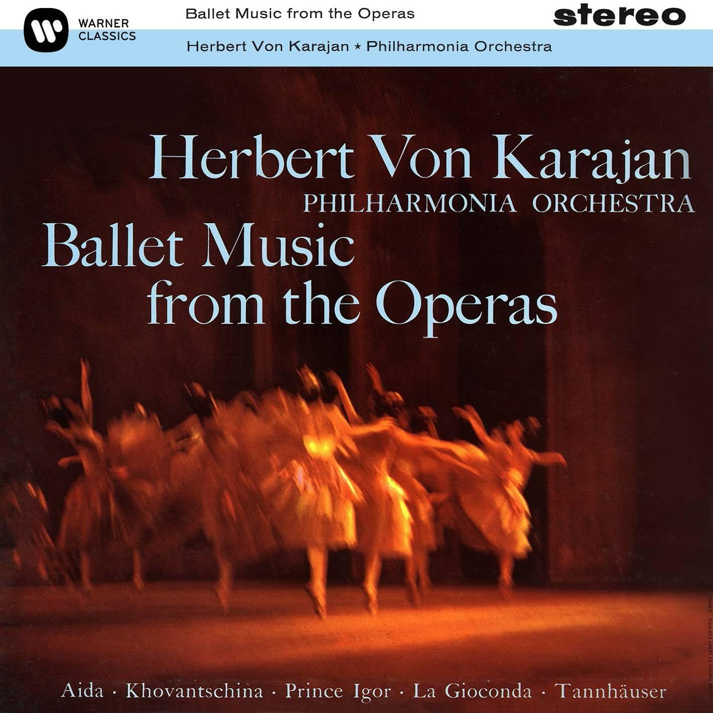 Herbert von Karajan, Philharmonia Orchestra - Ballet Music From The Operas (1960/2014) [Official Digital Download 24/96]